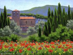 Impressionist Art Gallery- Vibrant landscape painting by Jennifer ...