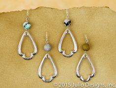 ER191 #juliodesigns #handmadejewelry #vintage
