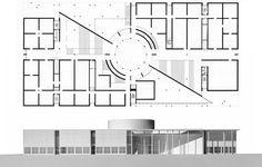 Pinakothek der Moderne (Pinakothek Museum of Modern Art) Munic Germany   © Stephan Braunfels Architekten