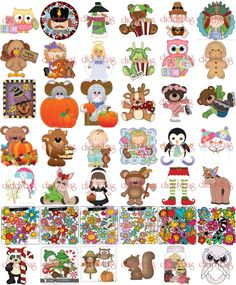 Adorable Clipart Sets to Digitize and Sell or Craft and Sell! | 99 ...