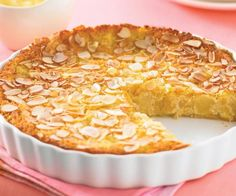 Pear and almond impossible pie - cakes - Torten Pear Recipes, Sweet Recipes, Cake Recipes, Almond Recipes, Sweet Pie, Sweet Tarts, Almond Pie Recipe, Pear Tart Recipe Easy, Recipes
