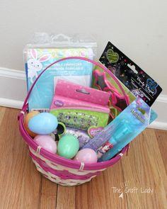 Dollar store diy toddler easter basket under 10 easter toddler approved dollar store easter basket ideas negle Choice Image