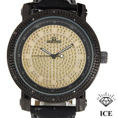 ICE MAXX Brand New Gentlemens Watch With Genuine Diamonds 5206 #icemaxx #LuxuryDressStyles