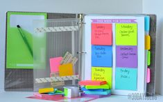Family binder- 19 Great DIY Organization Hacks Ideas and Tips