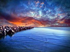 Costa rocosa del mar Báltico