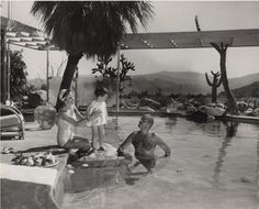 Bill Anderson, Raymond Loewy House, Palm Springs, California, ca. 1950's, collection of Palm Springs Art Museum, gift of Dorothy Anderson