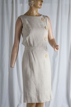 baf725cbc4 40 mejores imágenes de vestidos lino