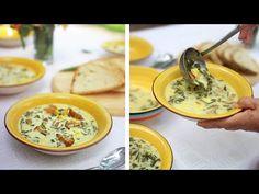 Ciorbă Tradițională de Salată Verde - Gătită de Mama - YouTube Soup Recipes, Cooking Recipes, Cheeseburger Chowder, I Foods, Ethnic Recipes, Desserts, Youtube, Green, Cooking