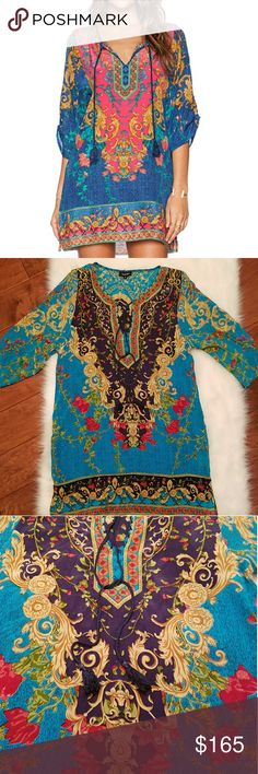New TOLANI TUNIC-DRESS New never worn  100% Silk. Offers are welcome Tolani Dresses