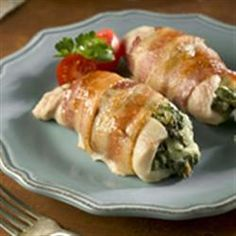 Made this for dinner tonight - spinach stuffed chicken breast. Highly recommend!!