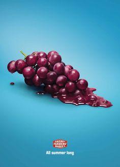 Calgary Farmers' Market: Grapes