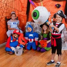 party games for kids boys halloween