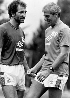 Graeme Souness and Walter Smith.