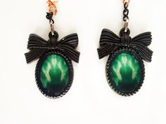 Bone Earrings  Gothic Lolita Earrings  X-ray Earrings