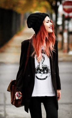 LeHappy #grunge #90s one of favorite outfits of hers