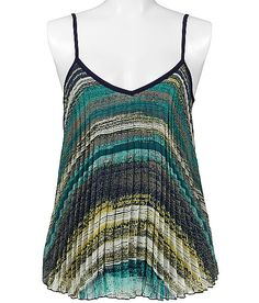 Daytrip Pleated Tank Top