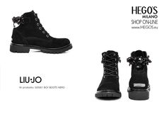 Black boy boots  LIU JO Autumn/Winter 15/16 Collection HEGO'S