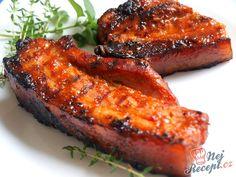 Marinovaná žebírka v medu Pork Recipes, Asian Recipes, Cooking Recipes, Ethnic Recipes, Canned Meat, Food 52, Tandoori Chicken, Bucky, Ham