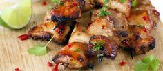 BBQ - Duivelslekkere Griekse Kipspiesen recept | Smulweb.nl