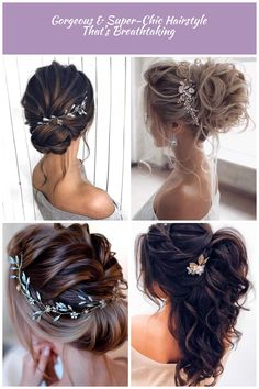 updo hairstyles, wedding hairstyles, wedding hairstyle for long hair Prom hair Prom Hairstyles For Long Hair, Updos, Long Hair Styles, Earrings, Fashion, Wedding Jewelry And Accessories, Up Dos, Ear Rings, Moda