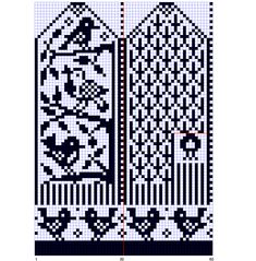 You need to know how to knit a Selbu mitten. Knitted in fingering weight yarn you will have a smaller womans mitten. Knitted Mittens Pattern, Knit Mittens, Knitted Gloves, Knitting Socks, Knitting Charts, Knitting Stitches, Knitting Needles, Knitting Patterns, Free Knitting
