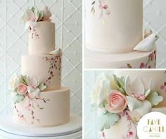 another cake I just love!  simple and elegant win every time.