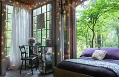 Coziest. Bedroom. Ever.