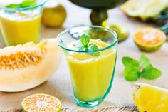 PIneapple Orange Melon Smoothie from blendersmoothies.com