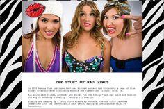 Rad Girls  http://www.clouiscreative.com