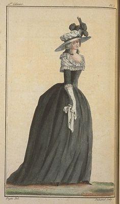 A Most Beguiling Accomplishment: Cabinet des Modes, 18e Cahier, 1ere Figure