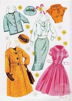 Sandra Dee Paper Dolls 1959 - 7