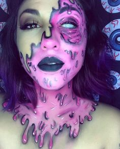 Sfx grimey makeup by @ambookilluh +:) #delagrimeylook #digitaldeathandgrime #deladeso