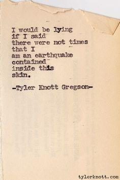 Typewriter Series #118 by Tyler Knott Gregson