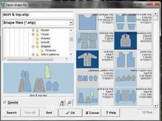 DesignaKnit 8 Original Pattern Tutorial - Exploring The New Shaping Thumbnails Directory