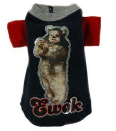 Jack Rocketwear Couture Vintage Navy Blue Ewok Dog Pet Shirt Outfit