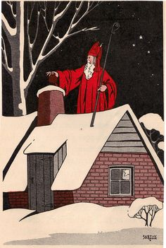 The story of the real St. Nicholas, ill by Curtiss Sprague