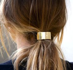 Metal Ponytail Cuff