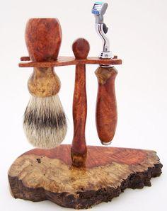 Cocobolo Wood 24mm Pure Badger Hair Shaving Brush Handle