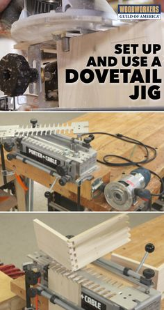 Dovetail jigs significantly shorten the learning curve for cutting great quality dovetails but, like any tool, a dovetail jig has to be set up and used correctly in order for you to get your best work out of it. This class provides you with everything you need to know to cut excellent through, half blind, and rabbeted dovetails on your jig.
