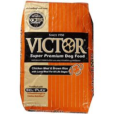 Victor Chicken Meal & Brown Rice with Lamb Meal Dry Dog Food, ~~~ To check this awesome product by going to the link at the image. (This is an affiliate link and I receive a commission for the sales) Dog Food Recipes, Chicken Recipes, Dry Dog Food, Brown Rice, Lamb, Vitamins, Image Link, Nutrition, Meals