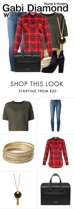 """""""Young & Hungry"""" by wearwhatyouwatch ❤ liked on Polyvore featuring Marc Jacobs, J Brand, Steve Madden, Vince, Marc by Marc Jacobs, Alexander McQueen, Jeffrey Campbell, television and wearwhatyouwatch"""