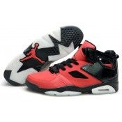 2013 New Nike Air Jordan 6 VI Mens Shoes Red Black