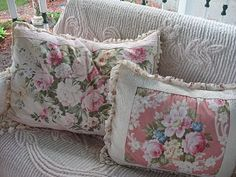 Shabby Cats and Roses: Vintage Pinks on the Porch for Pink Saturday