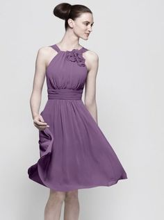 Watters Bridesmaids Style 7341 in Iris    I want my bridesmades to wear this just in peach fuzz color!