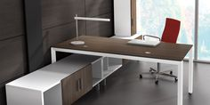 Miro is a system of freestanding modular desking and storage components that are easily moved or rearranged to evoke a traditional executive office, or something more unique.