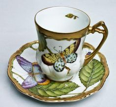 Summer Morning Demi Cup & Saucer ~ Anna Weatherley