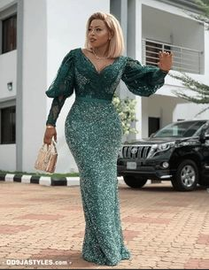 nigerian dress styles Latest Aso Ebi Styles 40 African Clothing Aso ebi Styles for Ladies: Trendy Lace Designs 2020 - photo African Maxi Dresses, Latest African Fashion Dresses, African Inspired Fashion, African Print Fashion, African Attire, Latest Fashion, Nigerian Dress Styles, Lace Gown Styles, African Lace Styles