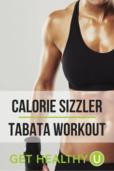 Sizzler Tabata Workout Get your body moving with this HIIT like workout!Get your body moving with this HIIT like workout! Tabata Workouts, Easy Workouts, Hiit, At Home Workouts, Step Workout, Best Ab Workout, Workout Guide, High Intensity Interval Training, Strength Workout
