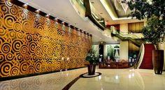 Outstanding glass wall #glassfer @glassfer Booking.com: 5-Star Grand Hotel Medan - Medan, Indonesia