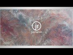 Just Resin - Resin Art - The Making of Zephyr - YouTube